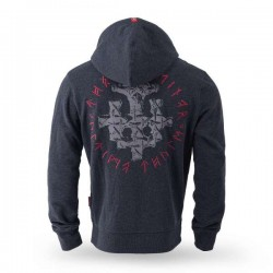 "Hooded sweat jacket ""Levanger"""